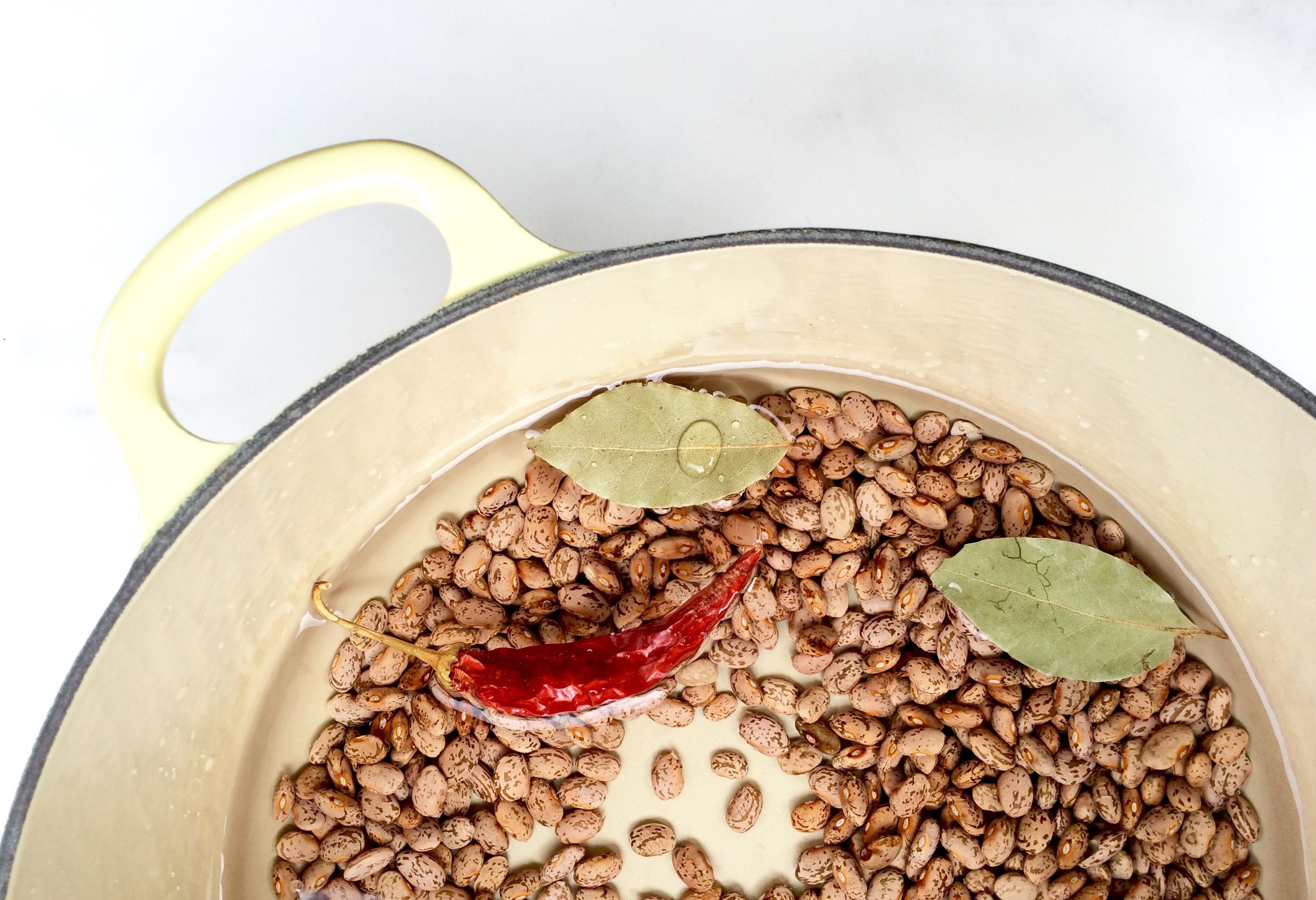 Drunken beans by Maria Speck