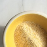 medium cornmeal, picture by Maria Speck