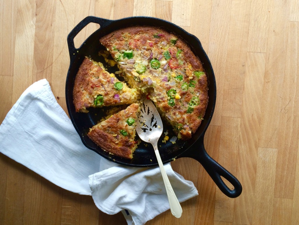 Vegetable Cornbread - picture by Maria Speck