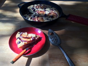 Skillet Cake with Kamut