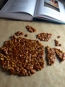 Pine nut brittle by Maria Speck